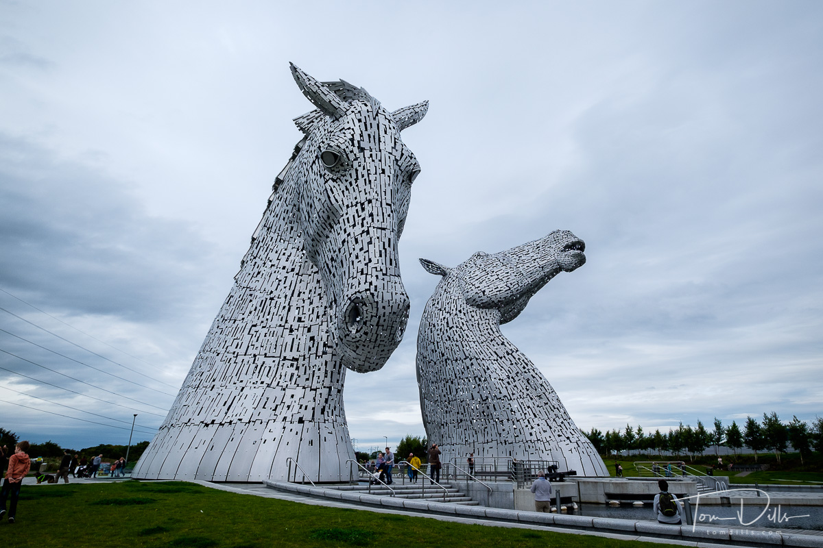 Our visit to The Kelpies at The Helix Park in Falkirk