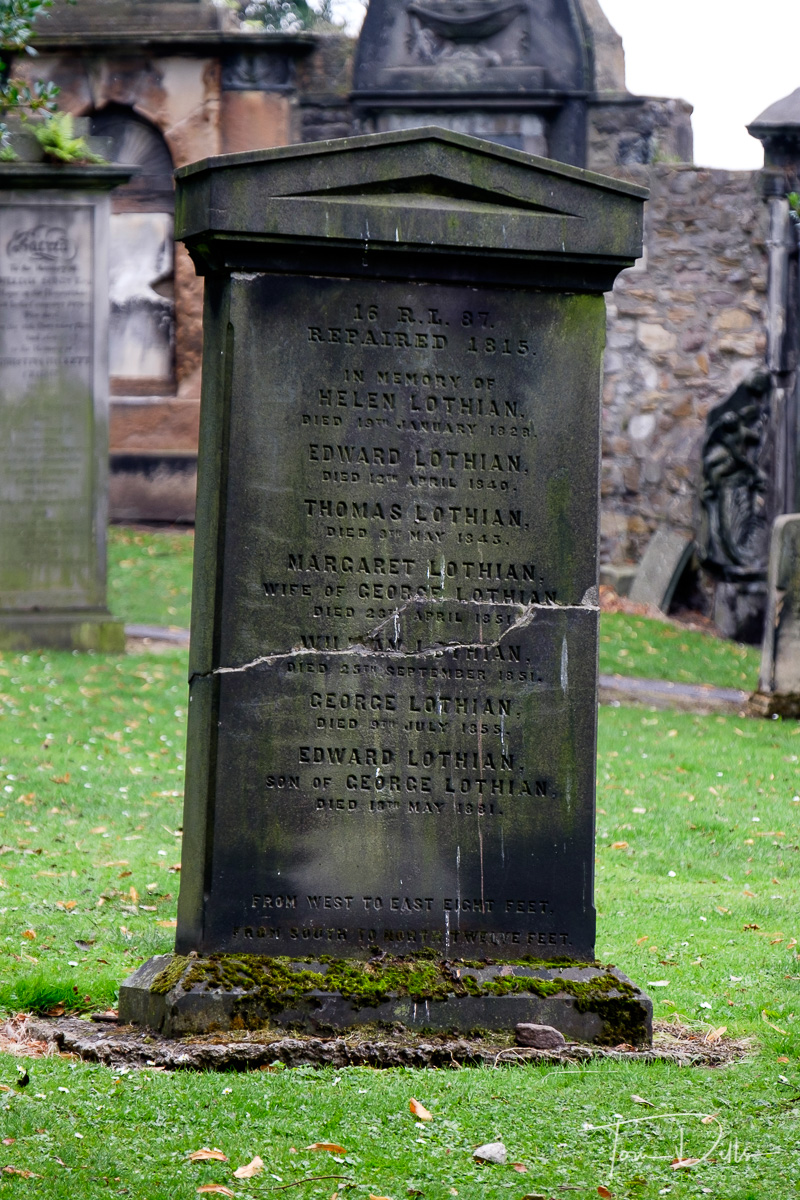 Greyfriar's Kirk and Greyfriar's Kirkyard church and graveyard in Edinburgh