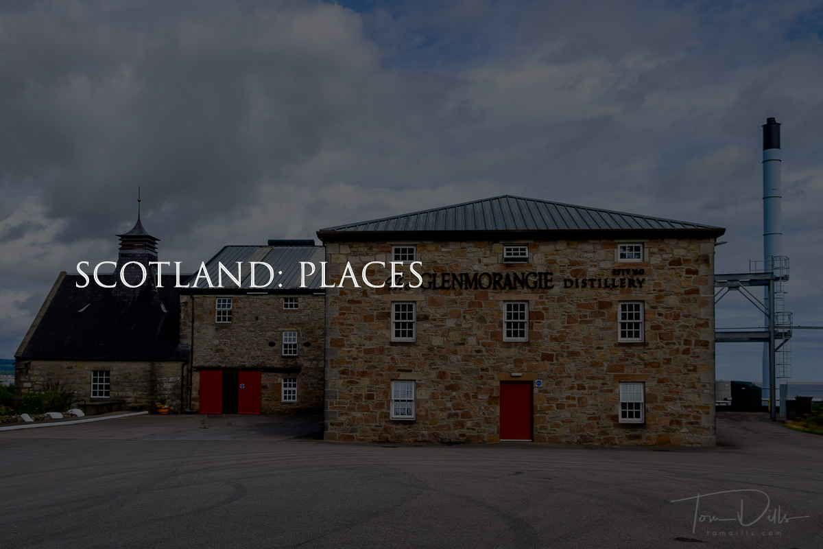 Our visit to the Glenmorangie Distillery in Tain, Scotland
