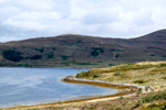 View along the A87  between Kyle of Localsh and Sligachan, Scotland