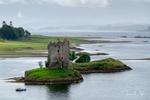 Castle Stalker on Loch Linnhe near Appin, Scotland