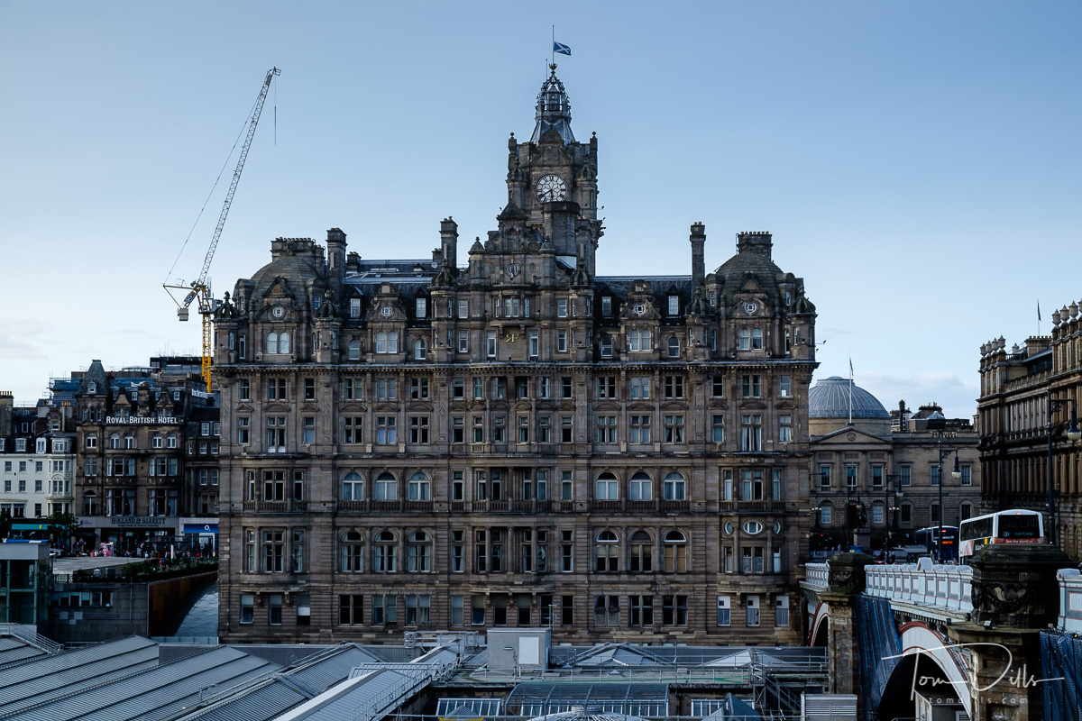 The Balmoral Hotel in Edinburgh