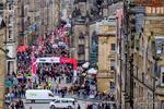 The Royal Mile in Edinburgh during the Fringe Festival