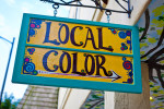as travel photographers we are always looking for local color.  this is too easy....brevard, north carolina