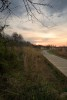 Spring sunrise, Torrence Creek Greenway, Huntersville, North Carolina