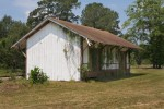Former train station in Williams, South Carolina.  Currently sits unused and in need of TLC.