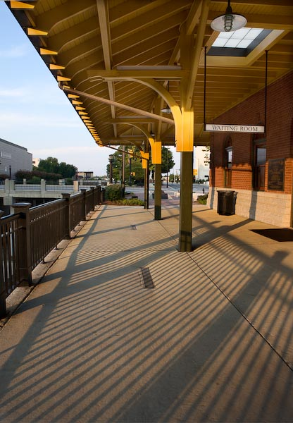 The High Point Amtrak Station, located in High Point, North Carolina, is served by three passenger trains, the Crescent, Carolinian and Piedmont. The street address is 100 West High Avenue, and is located in the heart of historic downtown High Point.