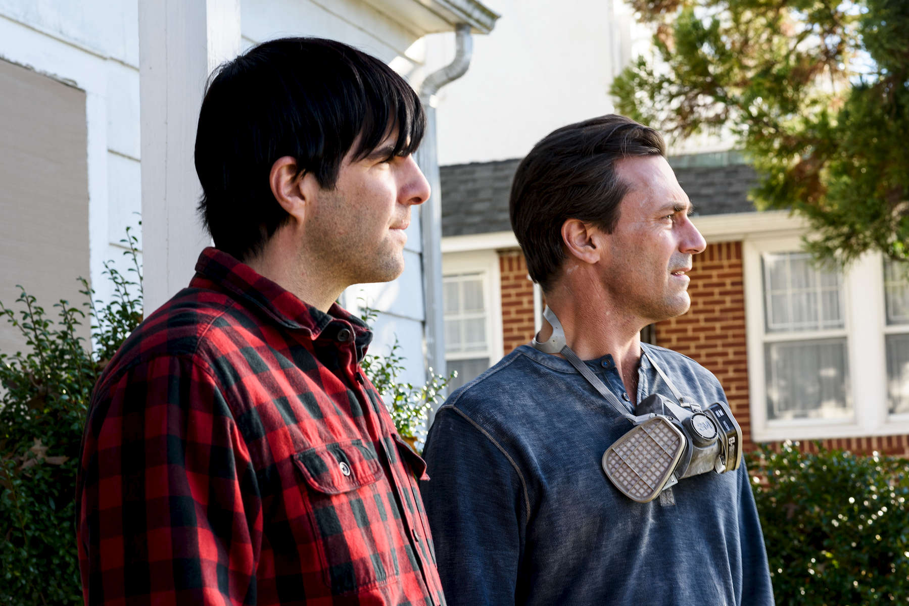Zachery Quinto and Jon Hamm