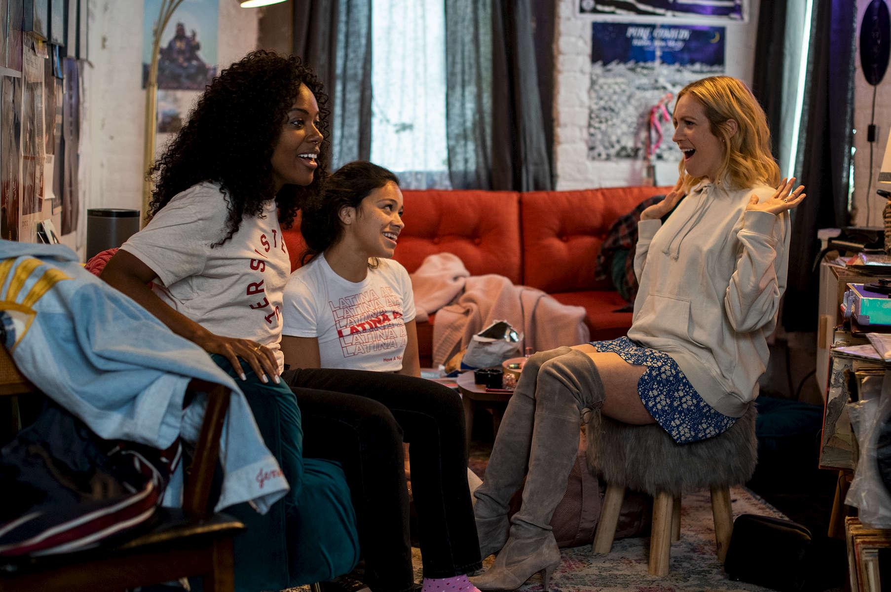 DaWanda Wise, Gina Rodriguez, Brittany Snow,