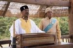 Eddie Murphy and Arsenio Hall star in COMING 2 AMERICA Photo: Quantrell D. Colbert© 2020 Paramount Pictures