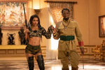 Teyana Taylor and Wesley Snipes star in COMING 2 AMERICAPhoto: Quantrell D. Colbert© 2020 Paramount Pictures