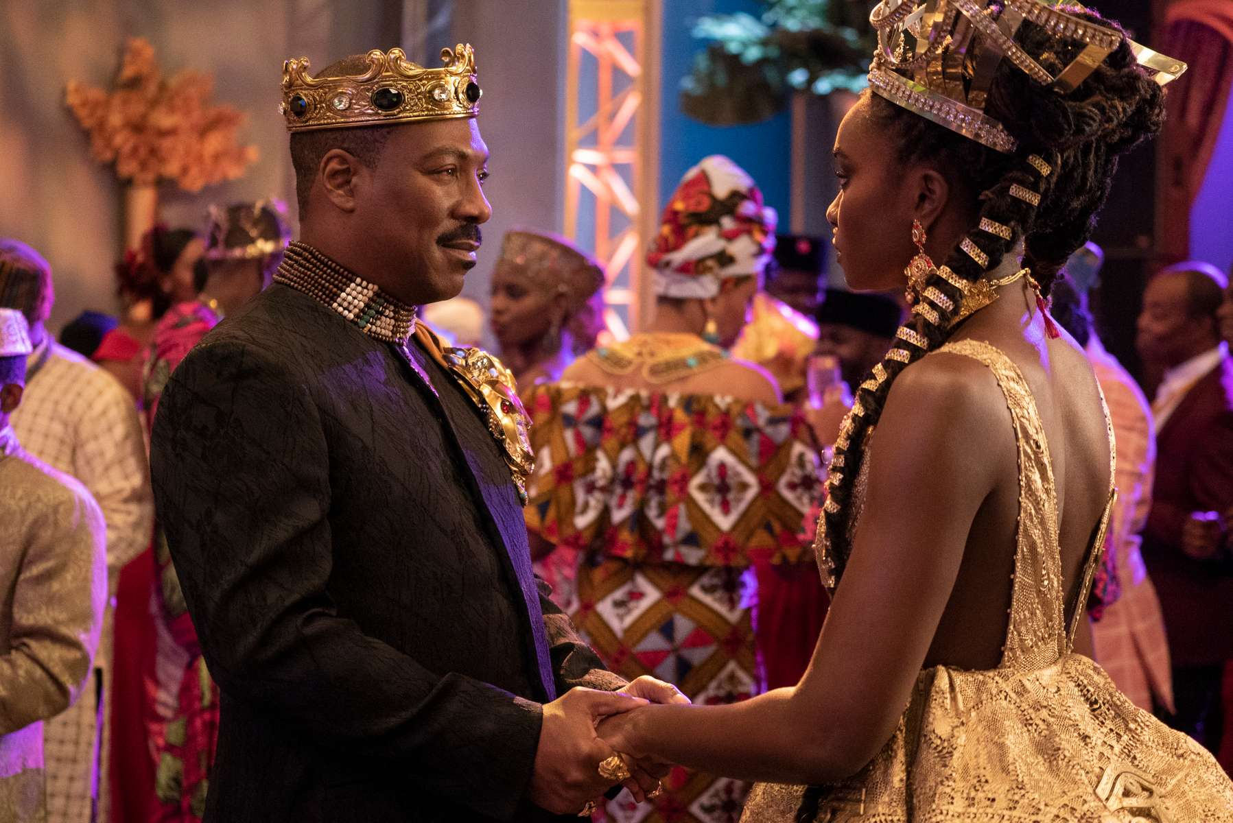Eddie Murphy and KiKi Layne star in COMING 2 AMERICA Photo: Annette Brown© 2020 Paramount Pictures