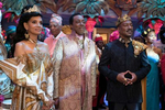 Shari Headley, Arsenio Hall and Eddie Murphy star in COMING 2 AMERICA Photo: Annette Brown© 2020 Paramount Pictures