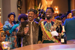 Eddie Murphy and Wesley Snipes star in COMING 2 AMERICA Photo: Quantrell D. Colbert© 2020 Paramount Pictures