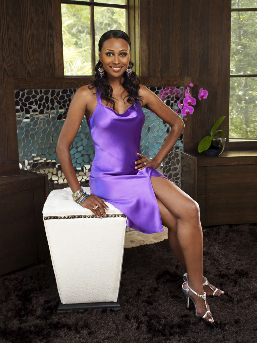 THE REAL HOUSEWIVES OF ATLANTA -- Season:3 --Pictured: Cynthia Bailey -- Photo by: Quantrell Colbert/Bravo