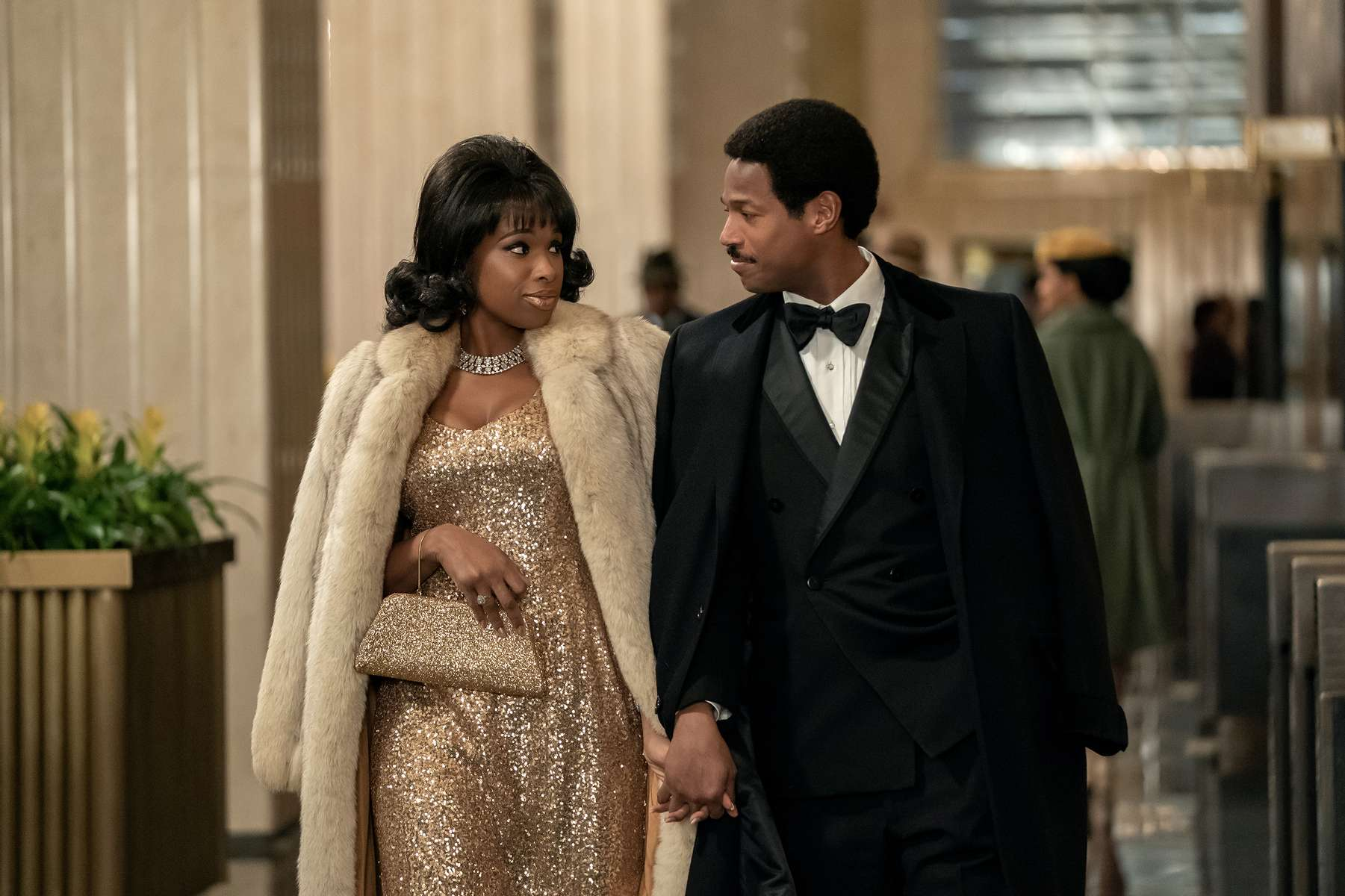 R_25682_RJennifer Hudson stars as Aretha Franklin and Marlon Wayans as Ted White inRESPECT, A Metro Goldwyn Mayer Pictures filmPhoto credit: Quantrell D. Colbert