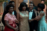 R_19272_RC(l-r.) Saycon Sengbloh stars as Erma Franklin, Marlon Wayans as Ted White, Jennifer Hudson as Aretha Franklin, LeRoy McClain as Cecil Franklin and Hailey Kilgore as Carolyn Franklin inRESPECT, A Metro Goldwyn Mayer Pictures filmPhoto credit: Quantrell D. Colbert
