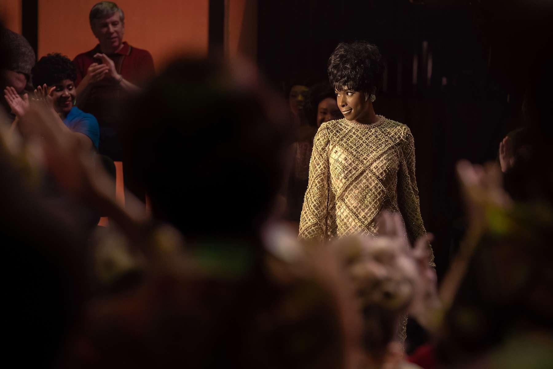 R_20803_RCJennifer Hudson stars as Aretha Franklin inRESPECT, A Metro Goldwyn Mayer Pictures filmPhoto credit: Quantrell D. Colbert