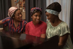 R_25682_R(l-r.) Hailey Kilgore stars as Carolyn Franklin, Jennifer Hudson as Aretha Franklin and Saycon Sengbloh as Erma Franklin inRESPECT, A Metro Goldwyn Mayer Pictures filmPhoto credit: Quantrell D. Colbert