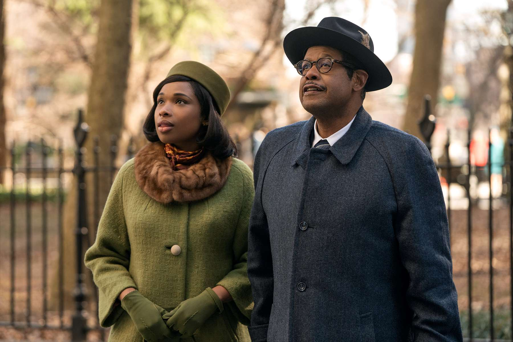 R_27620_RCJennifer Hudson stars as Aretha Franklin and Forest Whitaker as her father C.L. Franklin inRESPECT A Metro Goldwyn Mayer Pictures filmPhoto credit: Quantrell D. Colbert