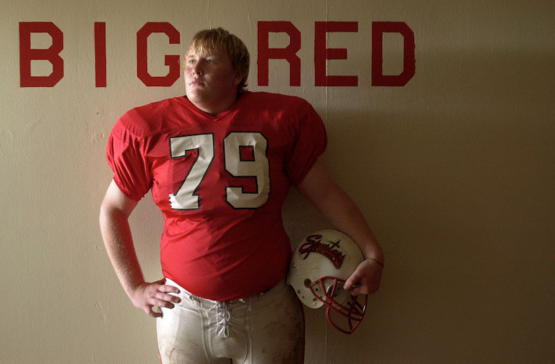 East Nicolaus High's 310-pound senior lineman Houston Wyllie.