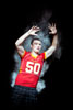 Palma's Jack Powers, 2011 All-County football defensive player of the year.