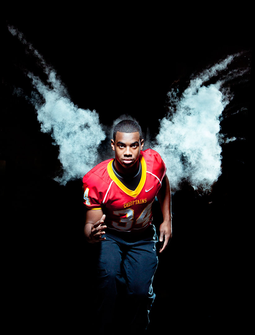 Palma's Marcel Brinson, 2011 All-County defensive football team.