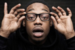 Photographic portrait of Atlanta rap artist, Spodee, of Grand Hustle Entertainment.