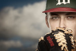 Photographic portrait of Pittsburgh Pirates pitcher, Jameson Taillon, during his days at Woodlands High School in The Woodlands, Texas.