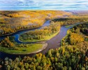 Clearwater River Alberta.  The Clearwater flows into the Athabasca at Fort McMurray, in the heart of the Alberta Tar Sands.