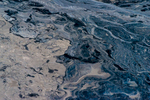 Tailings. Alberta Tar Sands, Oil Sands, Northern Alberta, Canada.