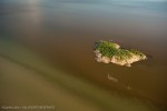 Island in Lake Athabasca. Athabasca  Delta.