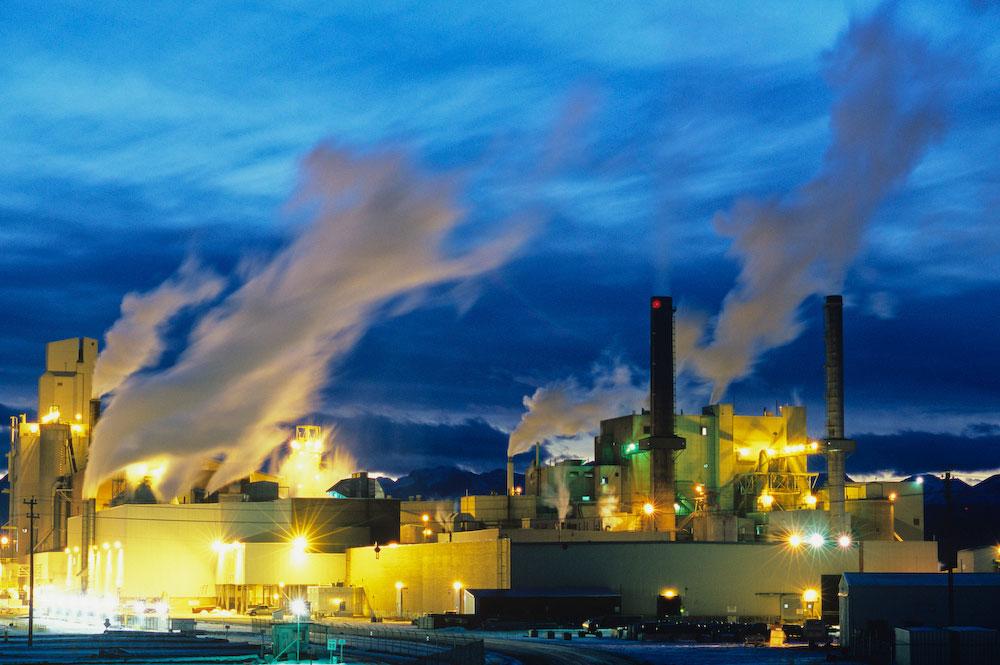 Pulp Mill, Hinton, Alberta, Canada