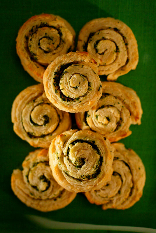 Herb Pinwheel Bisquits
