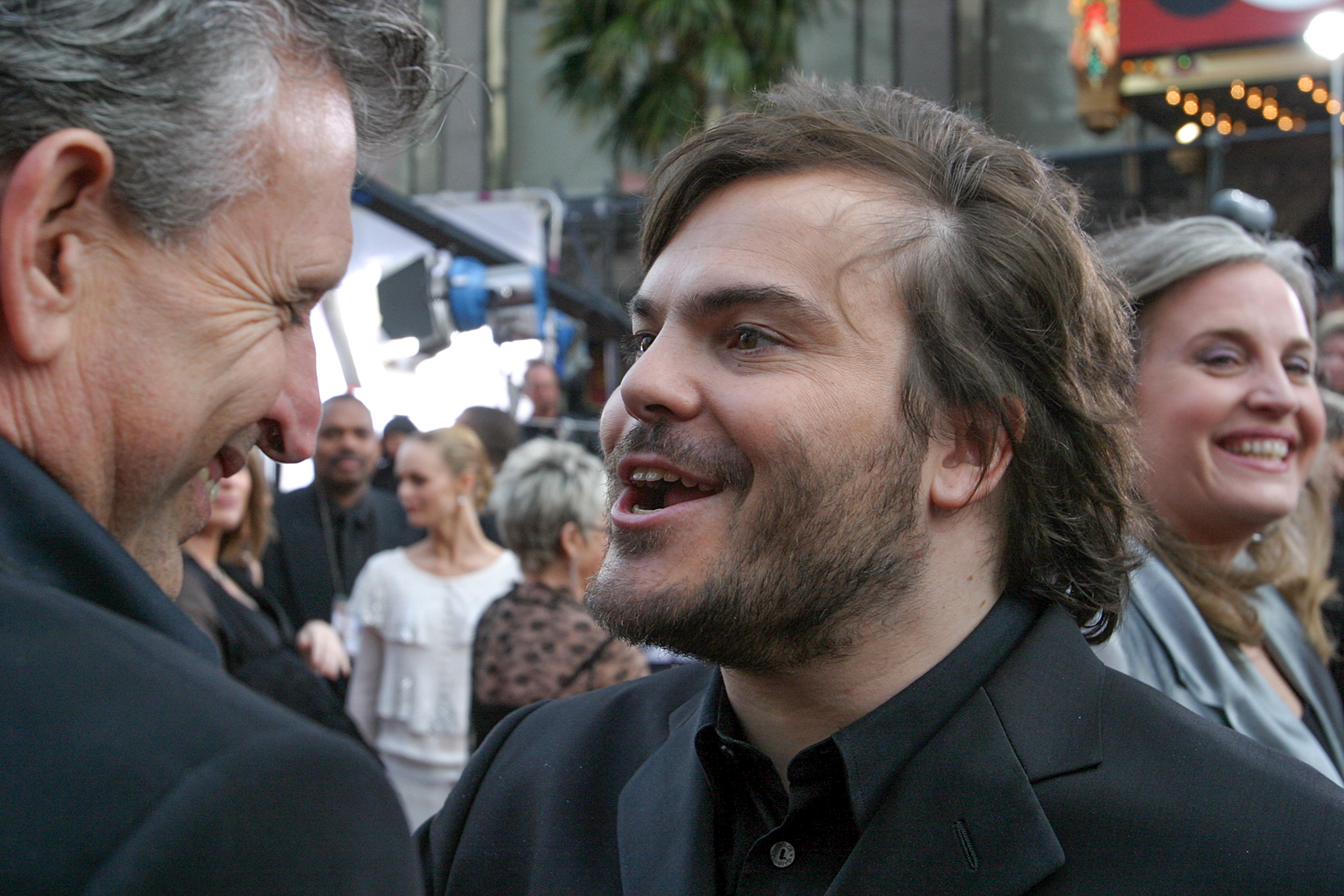 Joe Roth and Jack Black