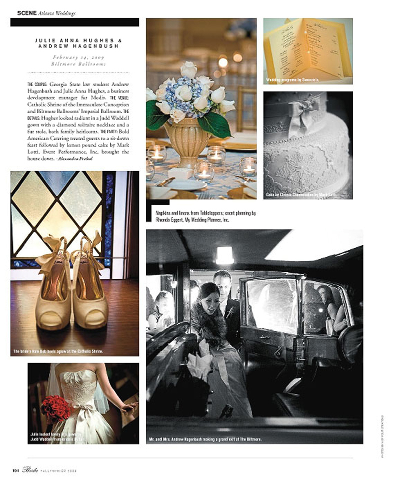Julie & Andy's wedding was on Valentine's day. What a day for a wedding!! Luxury Wedding, Atlanta, Heirloom, bride magazine