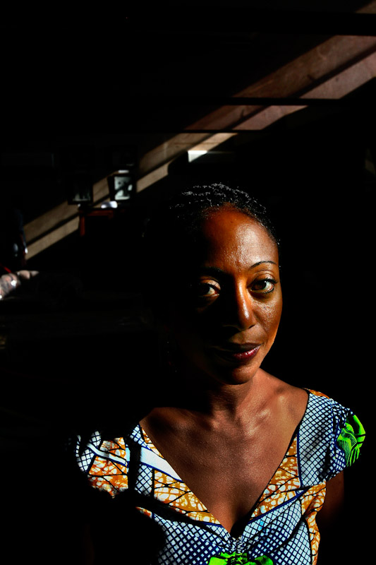 Ghanaian Parliamentary candidate Samia Nkrumah poses for a portrait in the museum at Kwame Nkrumah Memorial Park in Accra, Ghana.