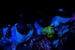 Kayayo girls sleep on the floor of a former warehouse where several hundred of them live in Kumasi.