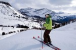 Skiing at Lake Louise