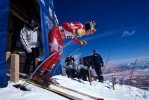 Olympic ski trials