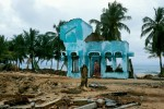5000 of the 8000 residents of Batticaloa were killed when the tsunami hit