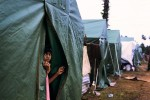 One of many refugee camps