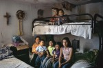 The bedroom for for seven children, Rio Grande Valley