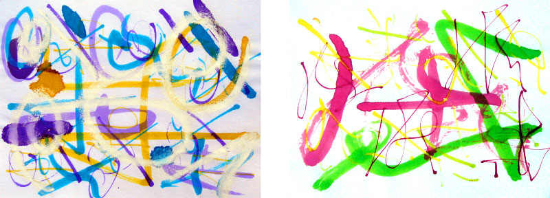 técnica: pastel, tinta y cera sobre papeldimensión por hoja: 15.5 x 11.5cmDISPONIBLE