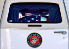 The casket of Marine Sgt. Garrett Misener prepares to be driven from Wilson Air Center. The funeral service for the 25-year-old Marine squad leader, who died early last Monday in Afghanistan after he was wounded by an improvised explosive device while on patrol in Helmand province, will be held today (Monday January 3) at Bellevue Baptist Church, 2000 Appling. (Mike Brown/The Commercial Appeal)