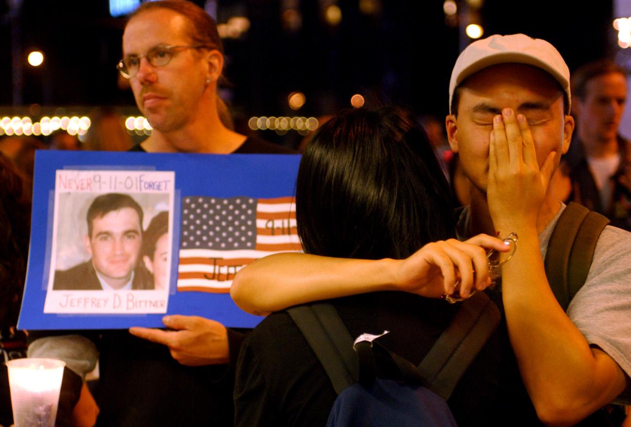 9/11 Anniversary - Ground Zero - NYC