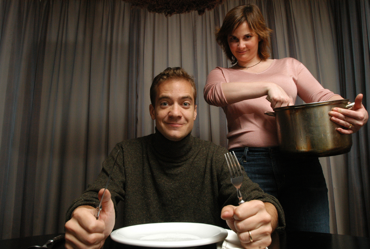 Eric and Julie Powell - Food Taster and Author of {quote}Julie and Julia{quote}