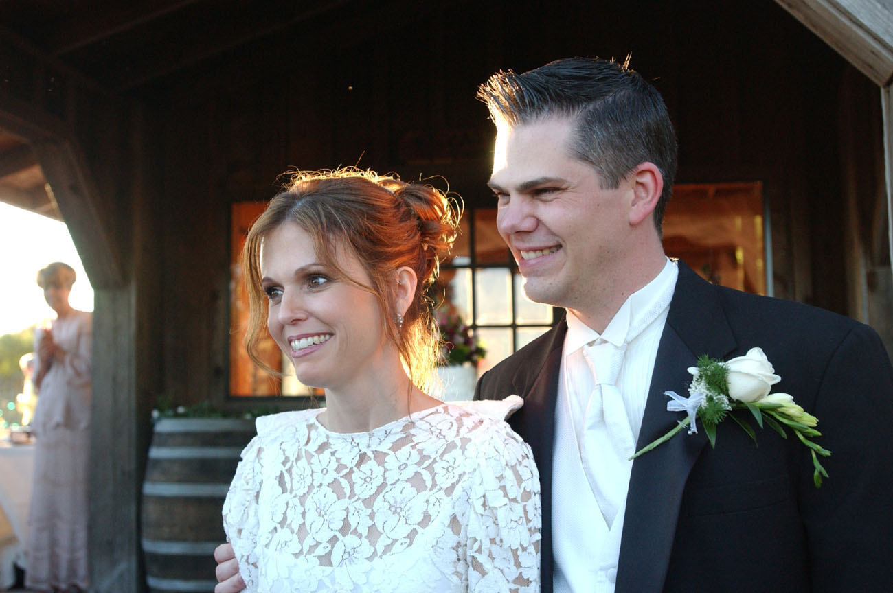 Theresa and Greg - Just married