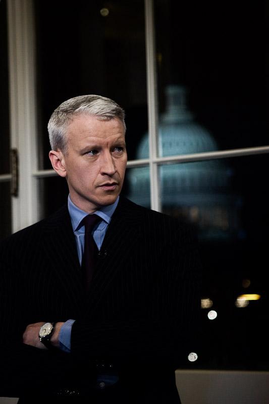 CNN anchor, Anderson Cooper. Washington, D.C.