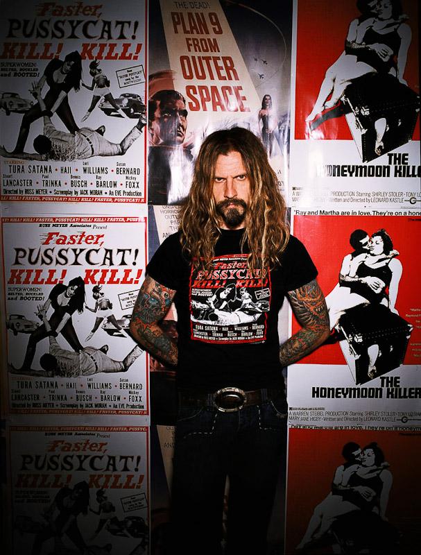 Rob Zombie, musician. Los Angeles, CA